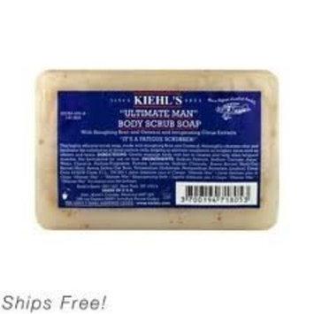 Kiehl's Ultimate Man Body Scrub Soap 3.2 Oz
