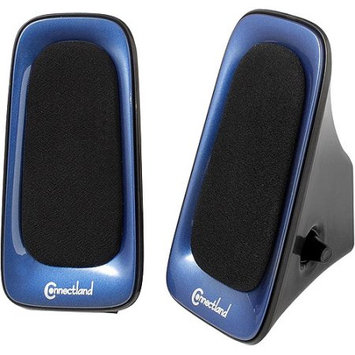 SYBA CLSPK20098 2x3W Multimedia Speaker System for Music Blue and Black