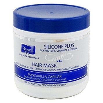 Rysell Hair Mask 16 Ounce Jar (455ml) (2 Pack)