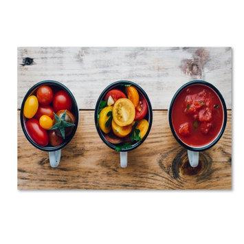 Trademark Global Games Trademark Fine Art 'Food process 2 Tomato Sauce' Canvas Art by Aleksandrova Karina