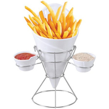 Starfrit Gourmet 80807006 French Fry & Dip Serving Dish