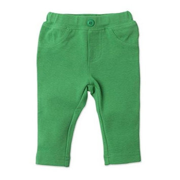 Zutano Primary Solid Stretch Knit Jegging- Apple, 6 Months