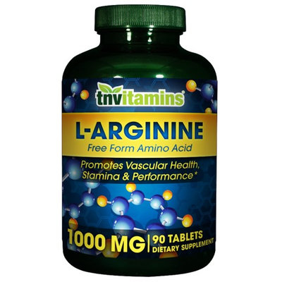 Tnvitamins L-Arginine 1000 Mg - 90 Tablets