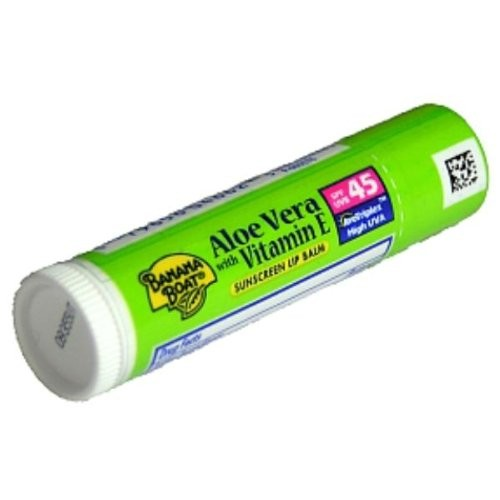 Banana Boat Sunscreen Lip Balm SPF 45 - Aloe Vera - Case Pack 24 SKU-PAS541204