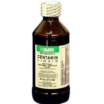 Silarx Pharmaceuticals [itm] Centamin Liquid 8 Oz. Bottle Especially Appropriate For Patients That?