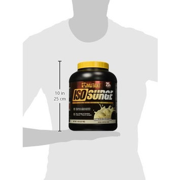Mutant ISO Surge Whey Protein Powder Acts FAST to Help Recover, Build Muscle, Bulk and Strength, Uses Only High Quality Ingredients, 5 lb - Vanilla Ice Cream [Vanilla Ice Cream]