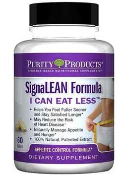 SignaLEAN I Can Eat Less by Purity Products - 60 Tablets