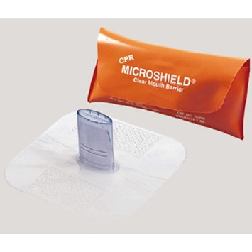 Microshield Cpr Face Shield In Orange Pouch 70-150, Sold As 1 Each