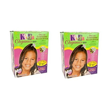 [ PACK OF 2] Africa's Best Kids Originals, Natural Conditioning Relaxer COARSE 2 COMPLETE KIT EA: Beauty