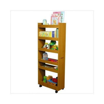 Venture Horizon Thin Man Pantry Cabinet Oak [oak]