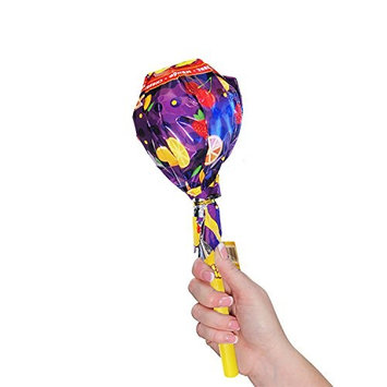 Sherwood Huge Giga Pops 21 Lollipops - 3 Pack, Each Pop Holds 7 Lollipop, Assorted Fun Colors Hot Flavors! Perfect For Halloween, Trick Or Treat, Kids, Gifts Strawberry Mango Cherry Lemon Orange
