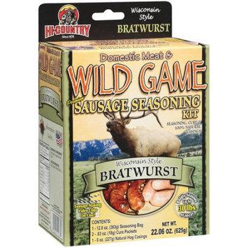 Hi-country Hi Country Wild Game Seasonings Wisconsin Style Bratwurst Premium Sausage Seasoning & Cure Kit, 22.06 oz
