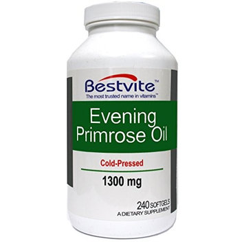 Bestvite Evening Primrose Oil 1300mg (240 Softgels)