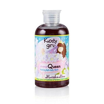 Knotty girL Drama Queen Marshmallow 250ml/8.5oz Bubbling Bath Body Wash
