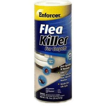 Enforcer Flea Killer For Carpets Multiple Insects Powder 20 Oz