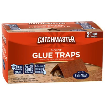 AP & G CO Covered Mouse Trap (2 Pack)