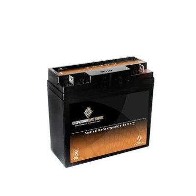 12V 20.5AH Sealed Lead Acid (SLA) Battery - T3 Terminals - for ZB-12-20.5 - S00200-00000
