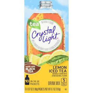 Crystal Light Drink Mix, Lemon Iced Tea, 6 Count, 4.2 Ounce
