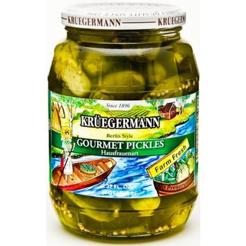 Gourmet Pickles (Hausfrauenart Style) 32 fl oz