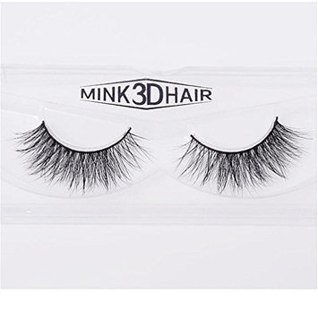 Long Thick Dramatic Look Handmade Reusable 3D Mink False Eyelashes For Makeup 1 Pairs Pack A12