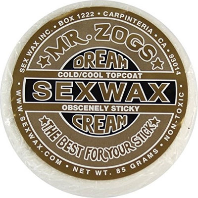 SEX WAX Mr Zogs DREAM CREAM GOLD Extra Cold to Cool Topcoat