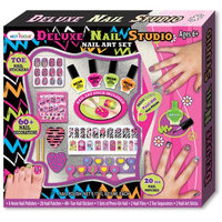 Hot Focus Deluxe Nail Studio Nail Art Set