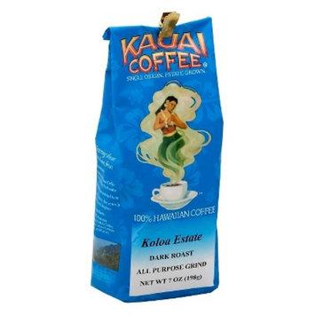 Kauai Coffee® Koloa Estate Dark Roast Ground Coffee - 7oz