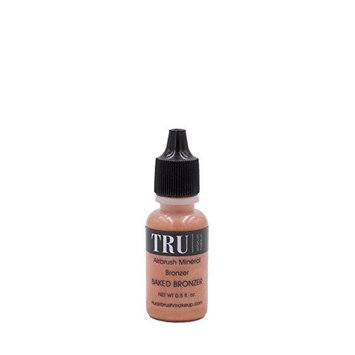 Tru Airbrush Makeup - Water and Mineral Bronzer, Baked Bronzer, 0.5oz, Air-br