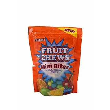 Tootsie Fruit Chews Mini Bites (Pack of 6)