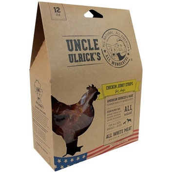 Uncle Ulrick's Natural Chicken Jerky Strips Dog Treat size: 12 Oz
