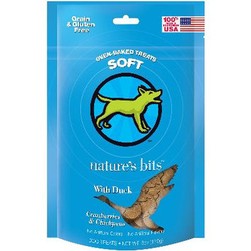 Nature's Bits Dog Treats 6oz-Duck Soft