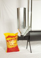 Cylinder Stoves Wood Pellet Burner Attachment for Outfitter Stove