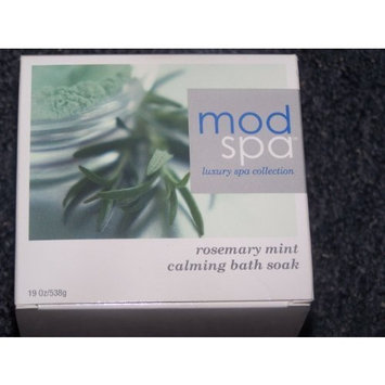 Mod Spa Luxury Spa Collection Rosemary Mint and Calming Bath Soak