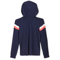 Big Girls Chevron Hooded Top