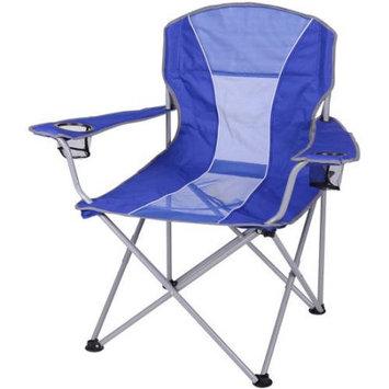 Ozark Trail Oversized Mesh Chair, Blue