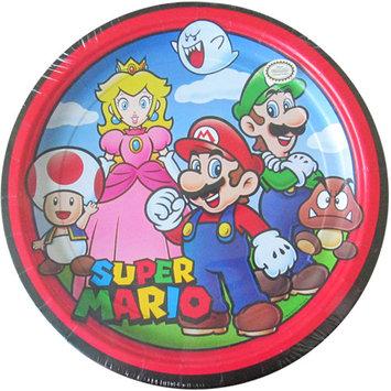 Super Mario Cartoon Large Paper Plates (8ct)