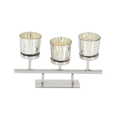 Benzara Heavenly Glass Votive Holder