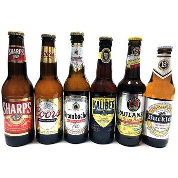 Non-alcoholic Beer Variety Pack (Miller, Cools, Krombacher, Kaliber, Paulaner, Buckler)   6 Packs