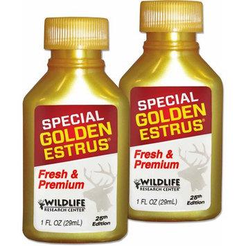 Wildlife Research Center 2015 Special Golden Estrus Value Pack, Two 1 oz Bottles