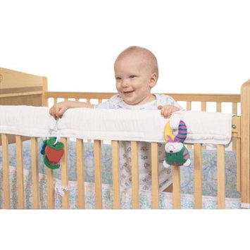 Leachco Easy Teether Crib Front or Back Rail Cover for Standard Cribs - Ivory