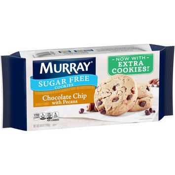 Murray Sugar Free Chocolate Chip with Pecans Cookies 8.8 oz. Pack