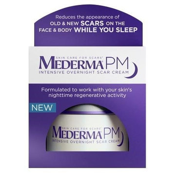 Mederma PM Intensive Overnight Scar Cream 1.7 oz(pack of 2)