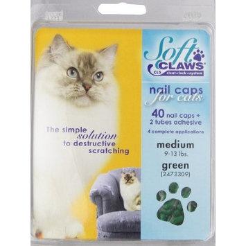 Soft Claws Feline Nail Caps - 40 Nail Caps Adhesive Cats