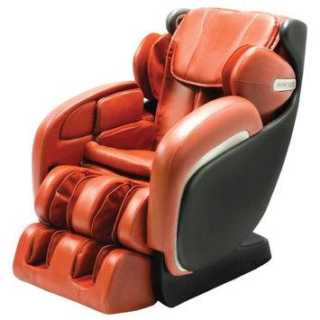 Apex Ultra Unique Massage Chair with 3 Level of Zero Gravity - Orange