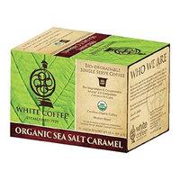 White Coffee Company Organic Single Serve Coffee Bio Cups - 40 Count (Sea Salt Caramel)