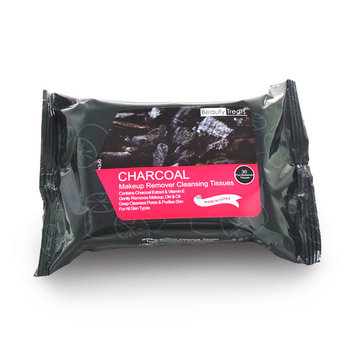 BEAUTY TREATS Charcoal Makeup Remover Cleaning Tissues