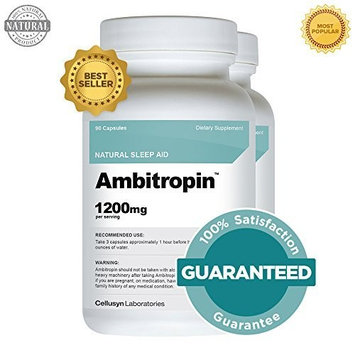 Ambitropin 2 Pack - Clinical Strength All Natural Sleep Aid
