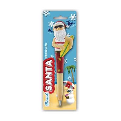 Puzzled Resin Pen Surfing Santa
