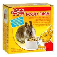 RC Hagen 61670 Living World Ceramic Dish for Rabbits