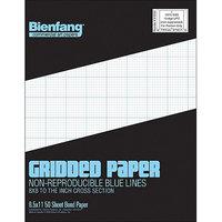Bienfang Gridded Paper Pad 8.5